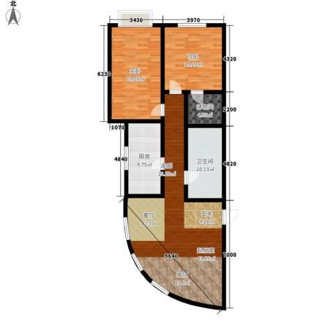 名人大第2室0厅1卫1厨115.00㎡户型图