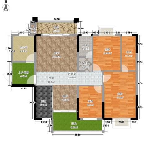 格澜郡3室0厅0卫1厨129.00㎡户型图