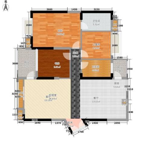 沙田镇私人住宅3室0厅2卫0厨145.00㎡户型图
