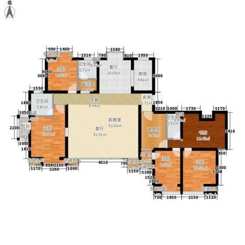 中基礼域6室0厅3卫1厨243.00㎡户型图