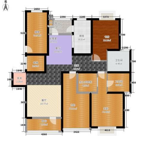 沙田镇私人住宅3室0厅2卫1厨205.00㎡户型图
