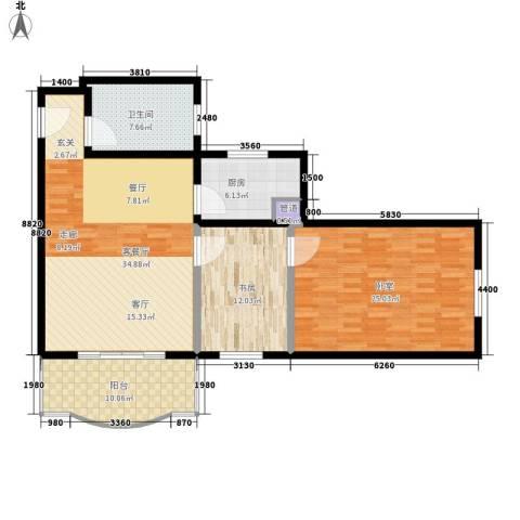 3511厂家属院1室1厅1卫1厨108.00㎡户型图