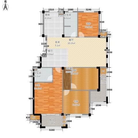 天怡嘉苑4室0厅2卫0厨154.00㎡户型图