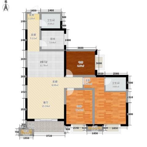 丽苑1683室0厅2卫1厨145.00㎡户型图
