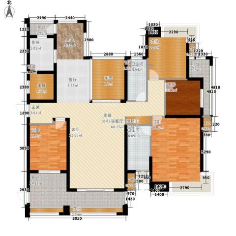 中海胥江府4室1厅2卫1厨194.00㎡户型图