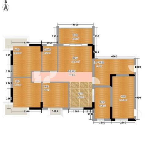 骏辉雅苑3室0厅1卫1厨1710.00㎡户型图