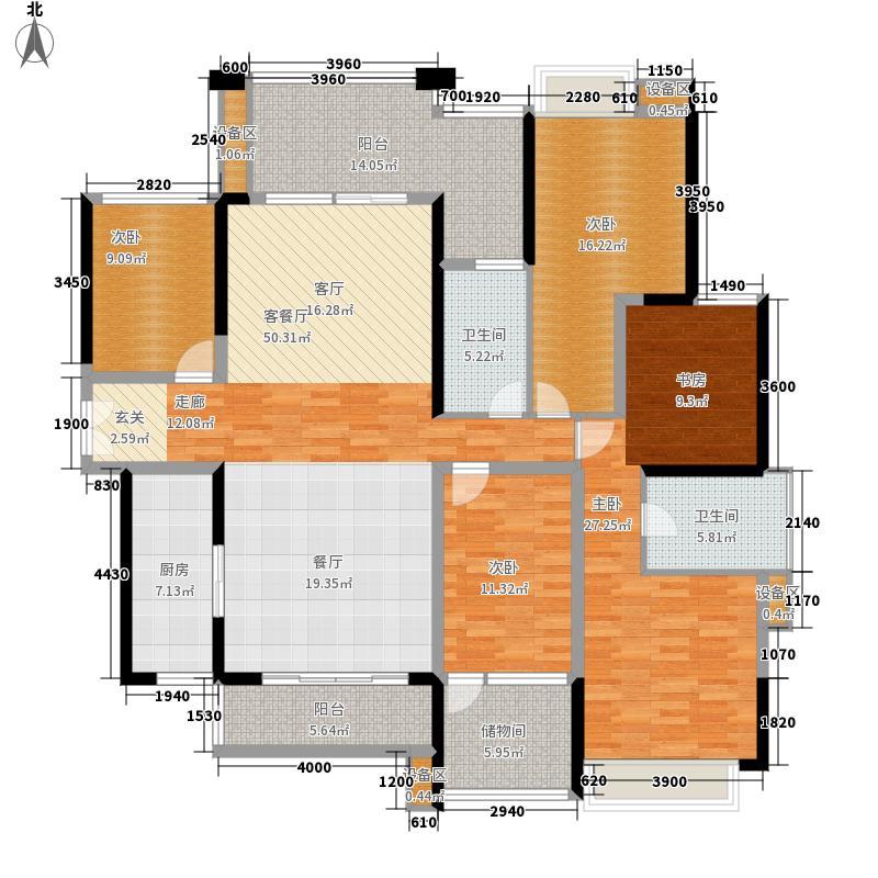 保利上城168.00㎡7栋8栋02户型