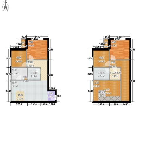 优活城4室0厅2卫1厨98.59㎡户型图