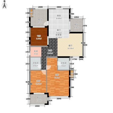 沙田镇私人住宅3室0厅2卫0厨800.00㎡户型图