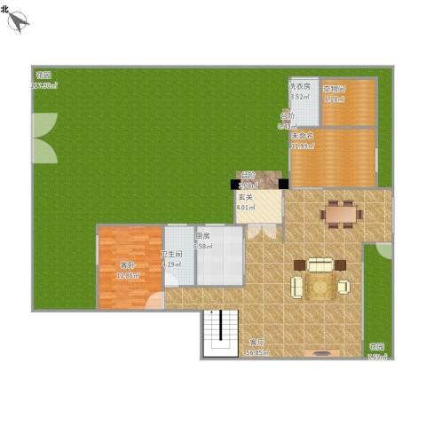 集美大唐世家1室1厅1卫1厨295.00㎡户型图
