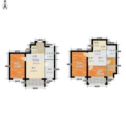 西城首府3室0厅2卫1厨131.00㎡户型图