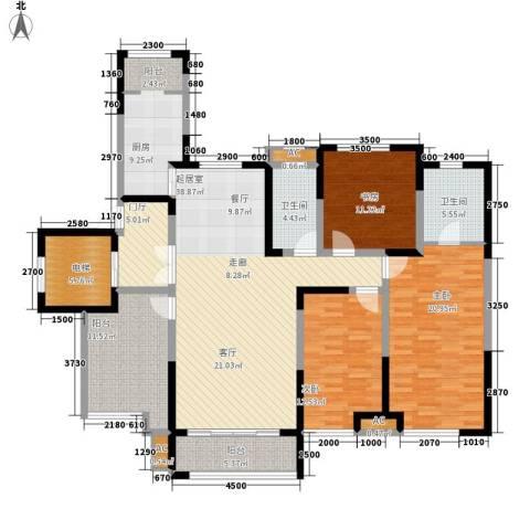 萨拉曼卡3室0厅2卫1厨146.00㎡户型图