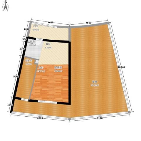 保利海陵岛1卫0厨113.31㎡户型图