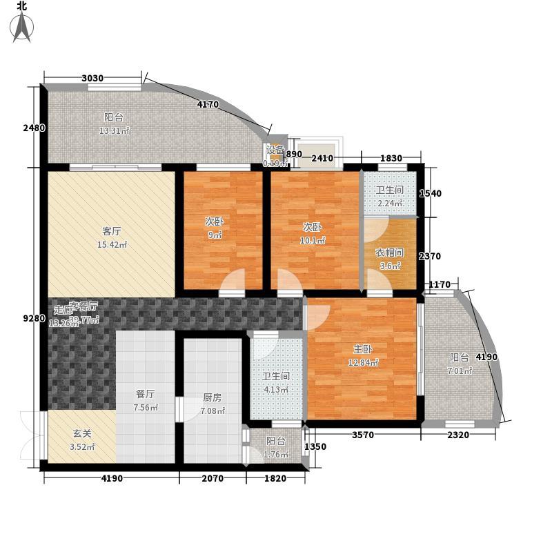 摩卡空间户型图(2/10张)