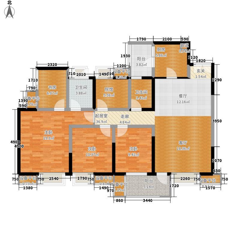 华润二十四城27号A4户型3室2厅