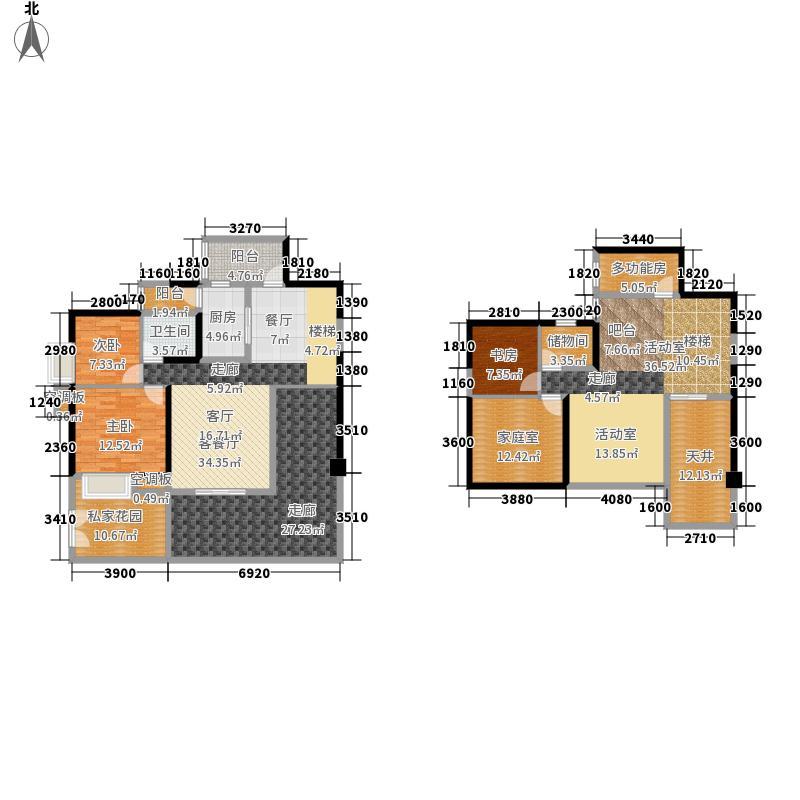 天府长城嘉南地183.11㎡G1复式5面积18311m户型