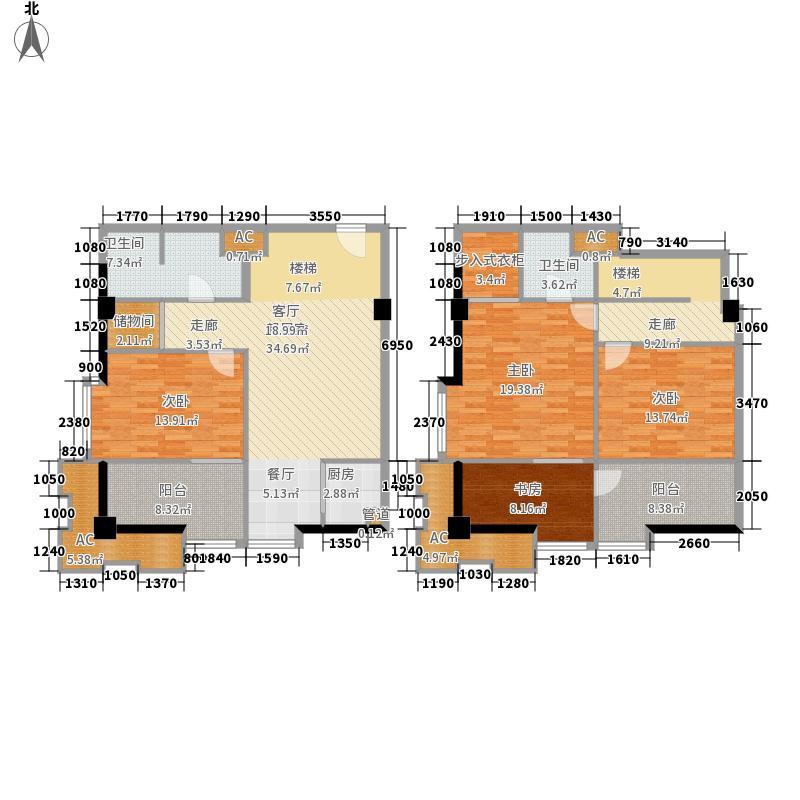 橙仕空间120.00㎡新房号04-05[全面积12000m户型