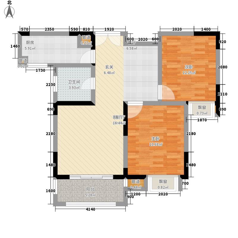 东景公寓85.60㎡K面积8560m户型