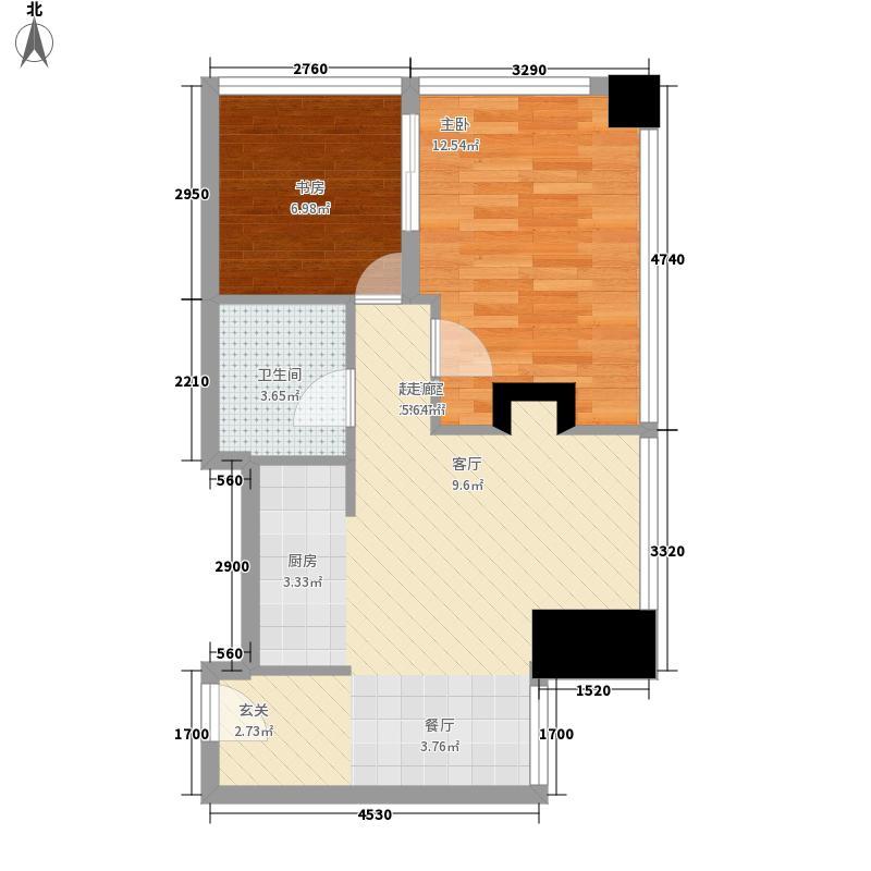 时代奥城酒店式公寓户型
