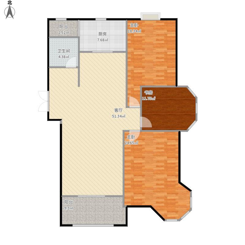 润城尚郡E三房两厅一卫