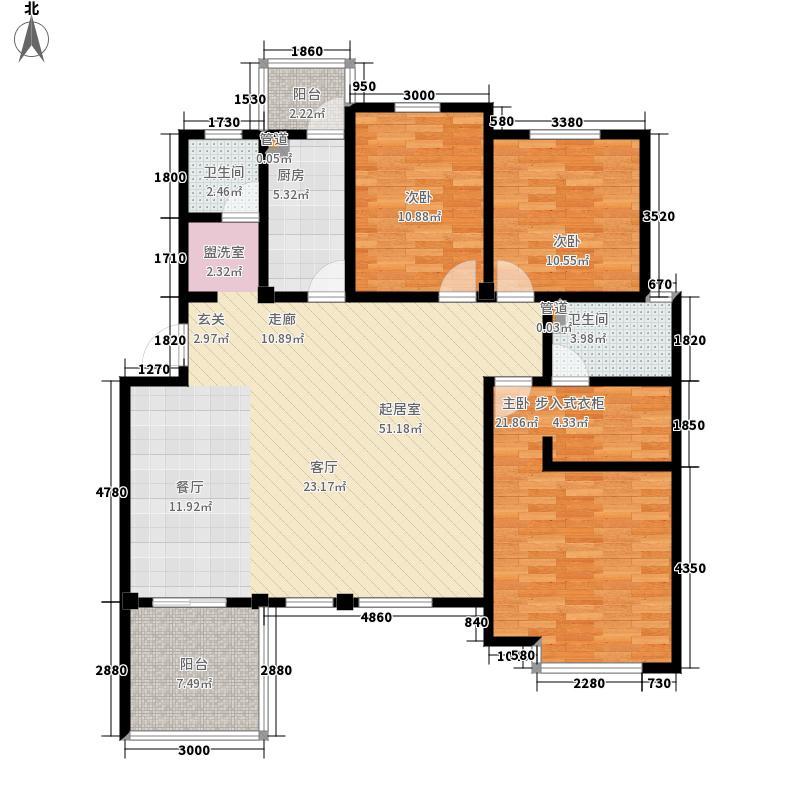 洪城比华利12、16#楼302户型