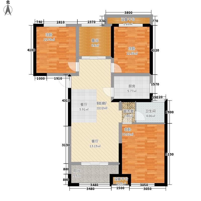 公园道1号113.00㎡C33+户型4室2厅