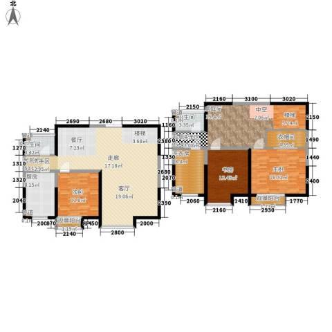 春江花月3室0厅2卫1厨168.00㎡户型图