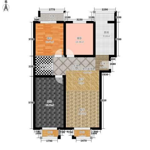盛唐府邸4室0厅1卫0厨126.00㎡户型图
