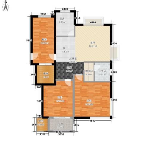 新隆蓝天公寓2室0厅1卫1厨114.95㎡户型图
