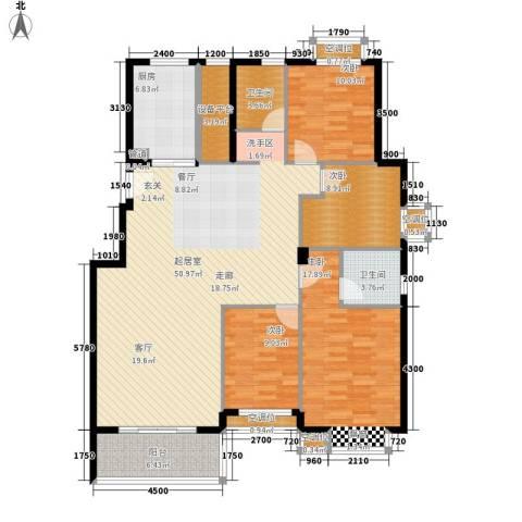 金色港湾4室0厅2卫1厨138.00㎡户型图