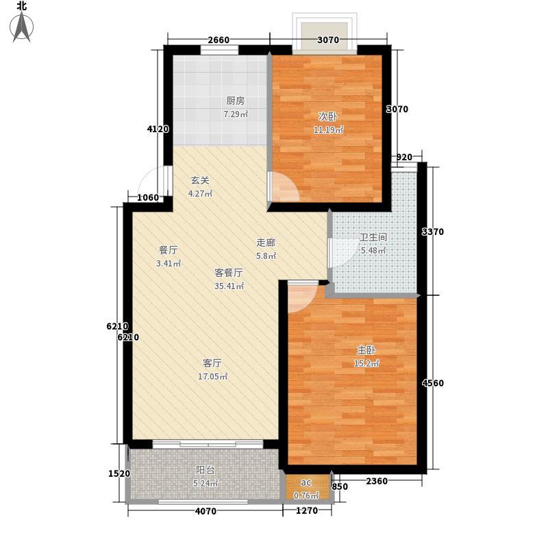 香樟园90.10㎡28号楼B2面积9010m户型