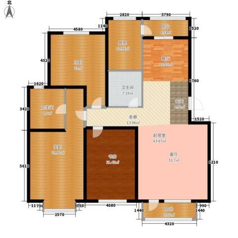 佳润新城3室0厅2卫1厨189.00㎡户型图