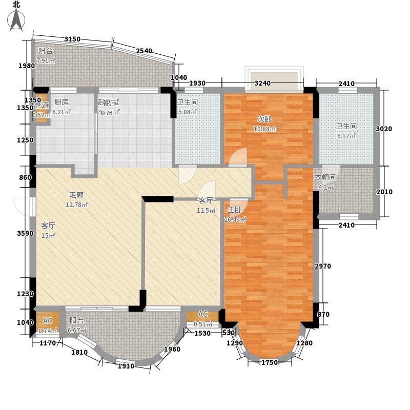 海龙湾131.52㎡山水轩3梯1-9层5面积13152m户型