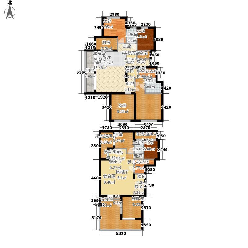 金象泰十里洋房169.06㎡十里洋房C&apos(12#/13#首层复式)户型
