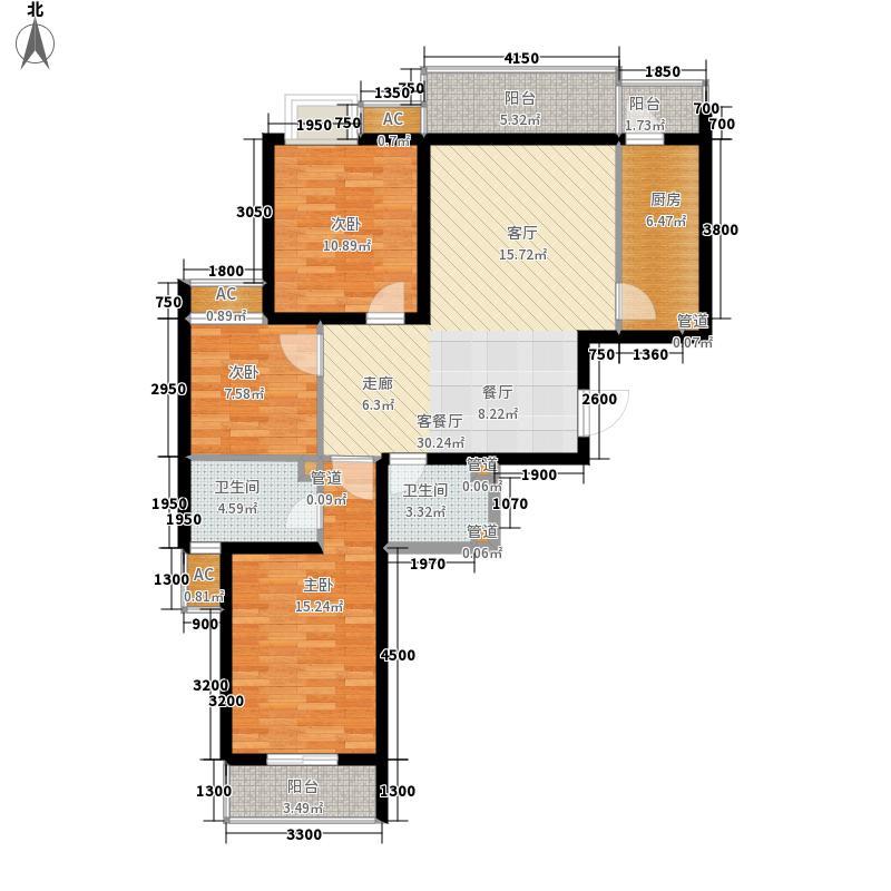 瑞雪春堂119.05㎡C12面积11905m户型