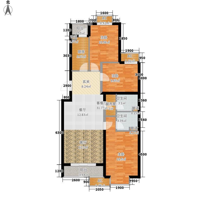 瑞雪春堂121.49㎡10#C9面积12149m户型