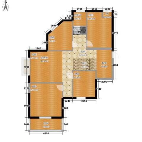 汉水熙园3室0厅1卫1厨138.00㎡户型图