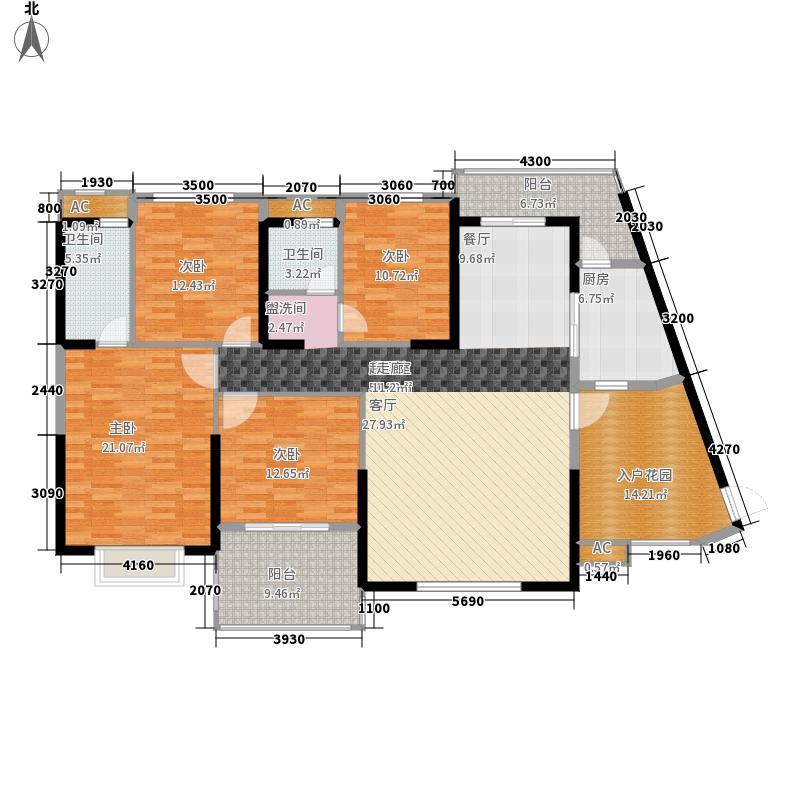 筑梦佳园175.00㎡2、6栋奢华面积17500m户型