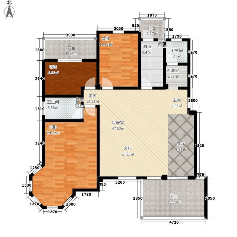 洪城比华利5、8、11#楼301户型