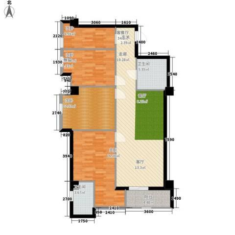 幸福逸家4室1厅2卫0厨107.00㎡户型图