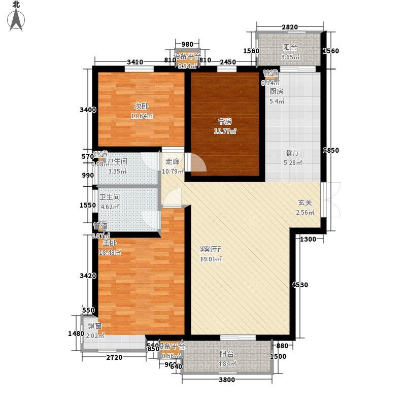 和平时光8号楼-L13-户型