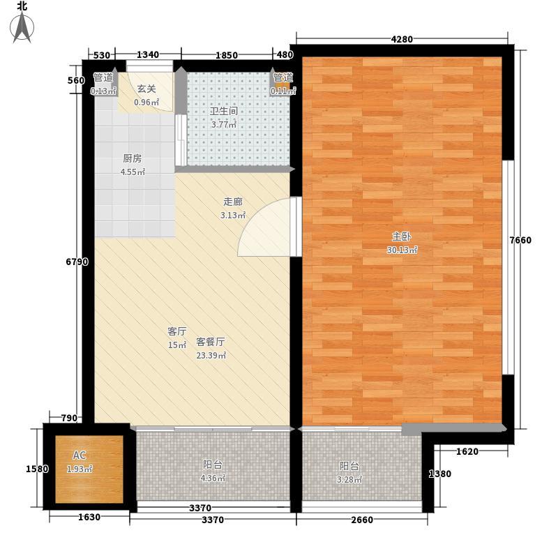 乐城半岛84.00㎡公寓10面积8400m户型