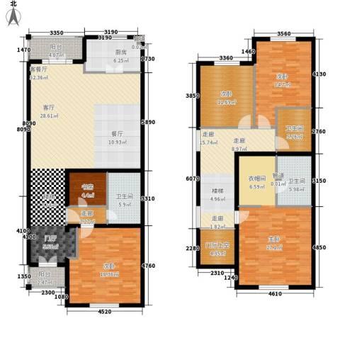 提香草堂5室1厅3卫1厨203.00㎡户型图