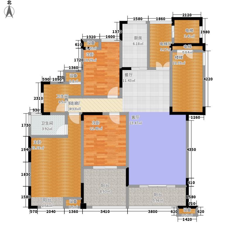 建业十八城户型