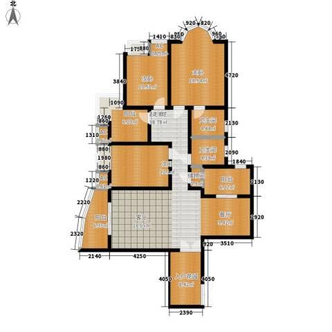 汉水熙园3室0厅2卫0厨183.00㎡户型图