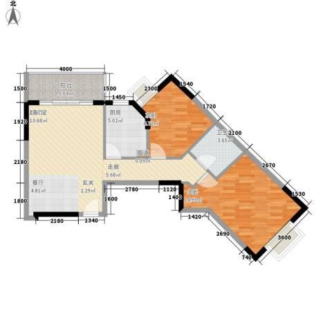 翰林1+12室0厅1卫1厨83.00㎡户型图