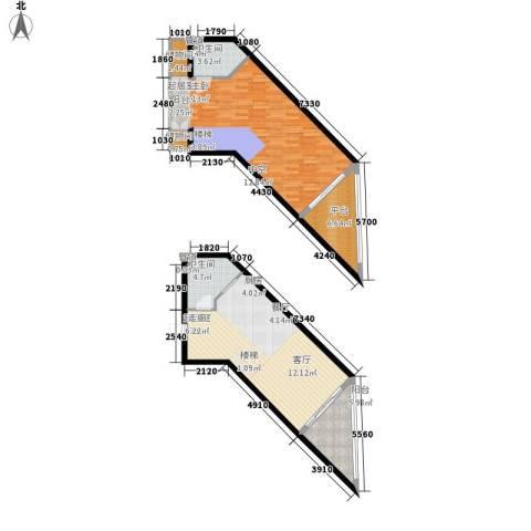 海巢2卫0厨117.00㎡户型图