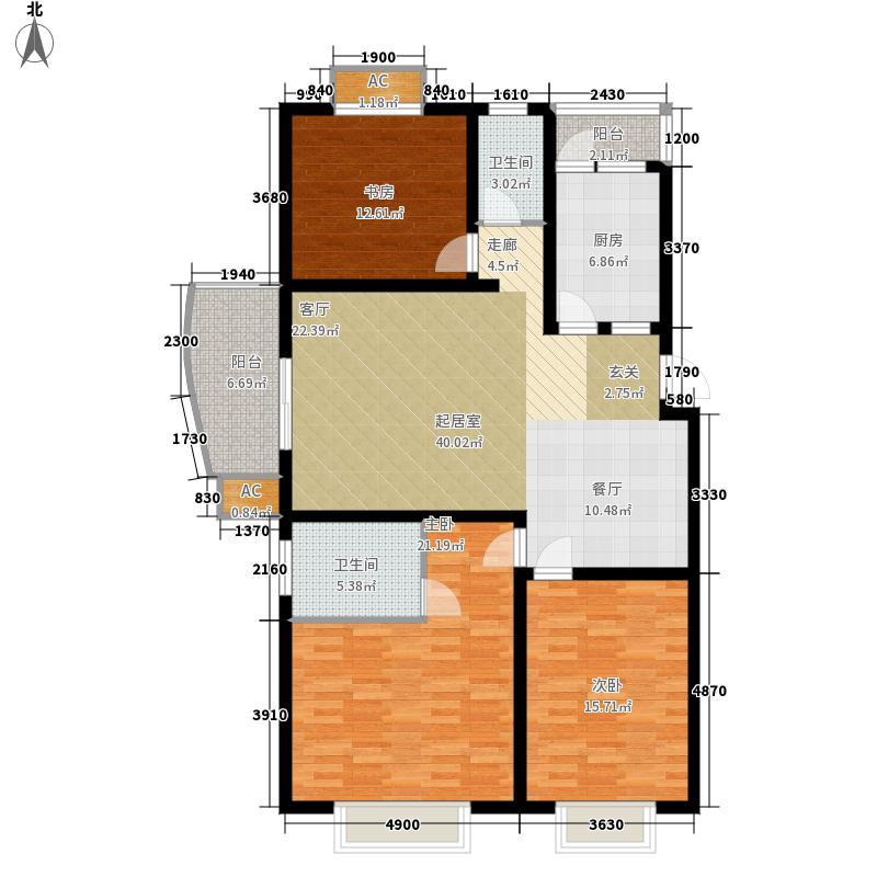 曙光大邸131.17㎡D10面积13117m户型
