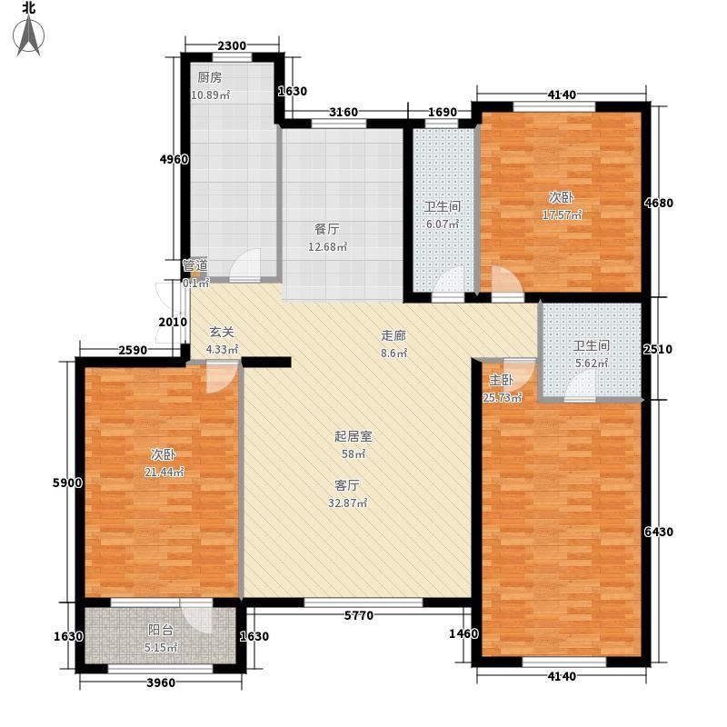 四季御景165.89㎡四季御景户型图户型3室2厅2卫
