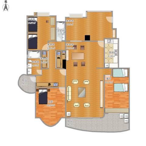 汇源豪庭(高明)1室1厅1卫1厨220.00㎡户型图